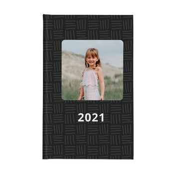 Personlig kalender 2021 – Hårdt omslag