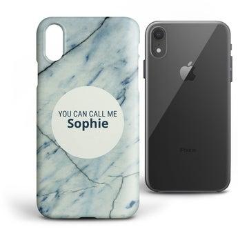Cover Personalizzata - iPhone XR - custodia rigida