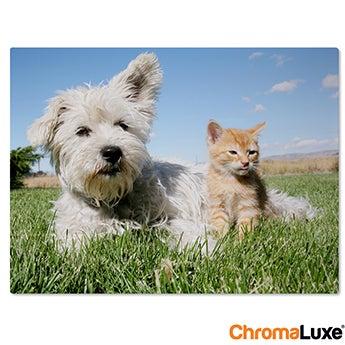 Chromaluxe Fototafel -  Weiß 15x10 cm