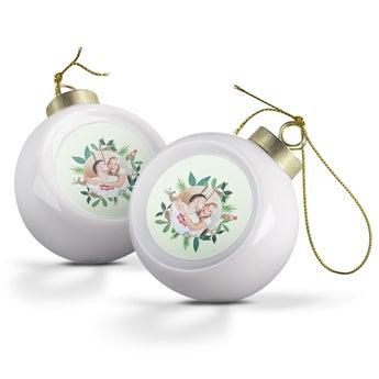 Christmas Baubles - Ceramic