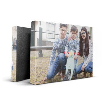 Personalised canvas - 30 x 20 cm