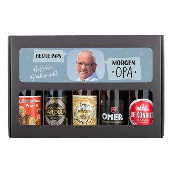 Bier Geschenkset - Opa  Belgisches Bier