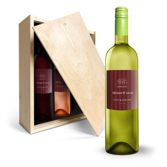 Oude Kaap Red, Rosé and White