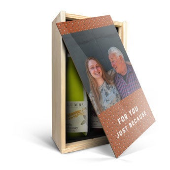 Yalumba Organic - White and red - In personalised case