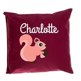 Bordeaux children's cushion