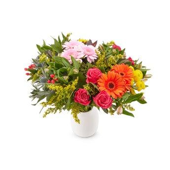Bunter Blumenstrauß Muttertag