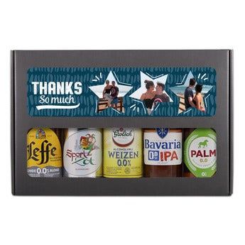 Pack cerveza personalizada - 0% alcohol