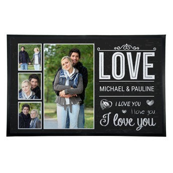 Doormat with photo - 90x60cm