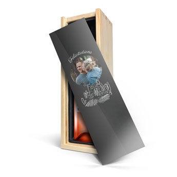 Vin Belvy rosé - Caisse personnalisée