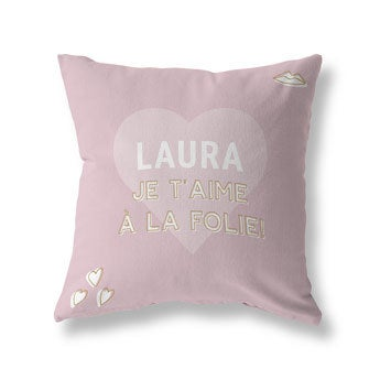 Coussin photo recto-verso - Coton 70x70