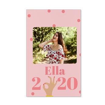 Agenda personalizada 2020 - Tapa suave - A3