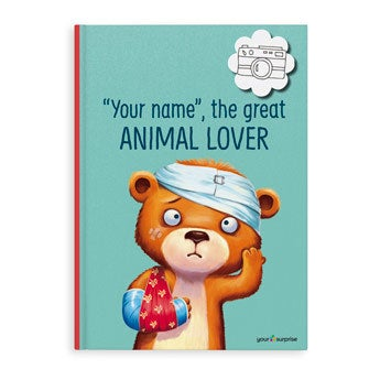 The Great Animal Lover - XL book (Hardcover)