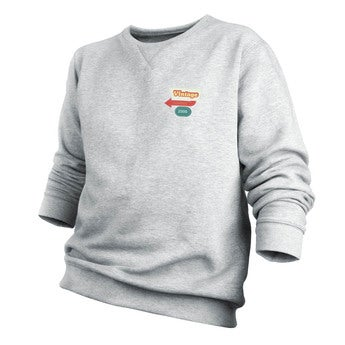Custom sweatshirt - Menn - Grå - M