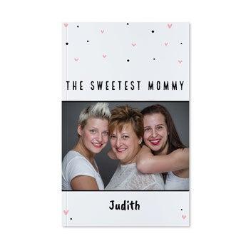 Äitienpäivä muistikirja - Pehmeäkantinen