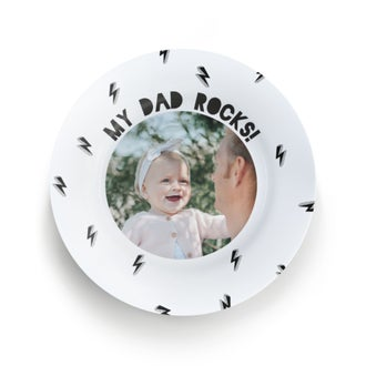 Fars dag plate