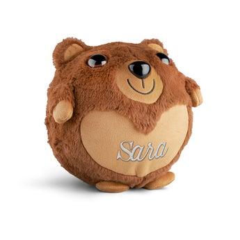 Personlig oppblåsbar bjørn