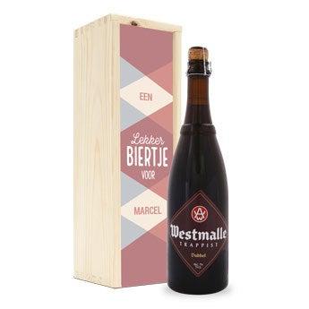 Bier in kist - Westmalle Dubbel