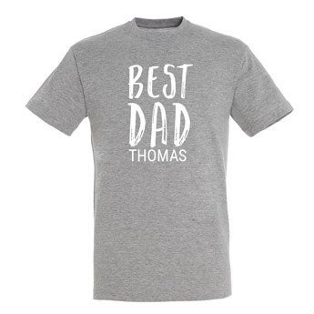 Familien T-Shirt - Herren  - L