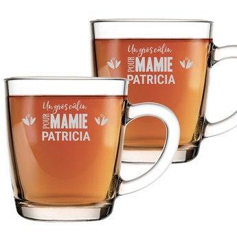 Tasses de thé pour mamie - 2 pièces