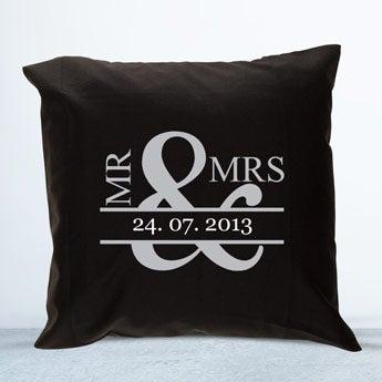 Cushion case - Black - 40 x 40 cm