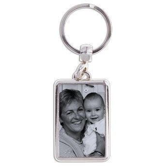 Portachiavi Nonna - Con Foto