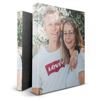 Personalised canvas - 20 x 30 cm