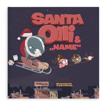 Personalisiertes Weihnachtsbuch-Santa Olli