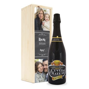 Cuveé du Chateau - personalised case
