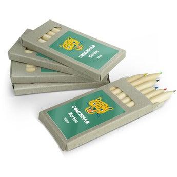 Lápis de cor - 100 caixas