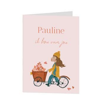 Valentijnskaart - XL - Staand