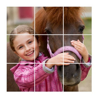 Instacollage panels - 15x15 - Glossy (9 pieces)