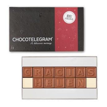 Telegrama de chocolate - 14 caracteres