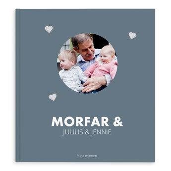 Fotobok - Morfar/Farfar - XL - HC - 40 sidor