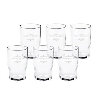 Water glass (6 pieces)