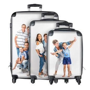 Set de maletas con foto