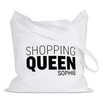 Bolsa de tela  personalizada - Color blanco