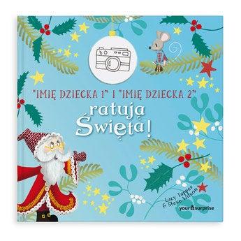 Personalizowana książka świąteczna