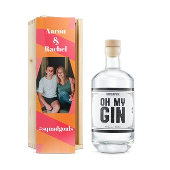 YourSurprise-gin i tryckt fordral