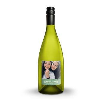 Luc Pirlet Chardonnay - Met bedrukt etiket