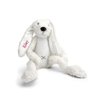 Personalised Rabbit Richie - Ivory