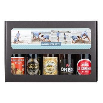 Set regalo della birra del padrino - belga