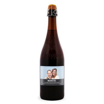Bier met etiket - La Trappe Quadrupel