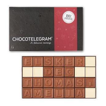 Sjokolade telegram - 36 tegn