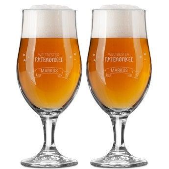 Biergläser - Patenonkel