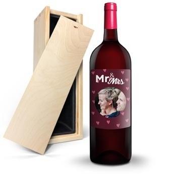 Wino Ramon Bilbao Crianza Magnum - z etykietą