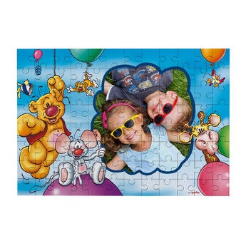 Personalised jigsaw puzzle - Doodles - 96 pcs
