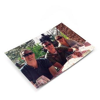 Postkarte mit Foto