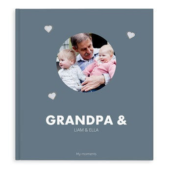 Photo album - Grandpa & Me/Us - XL - HC (40)