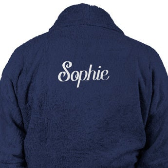 Bathrobe for Women - Blue L/XL