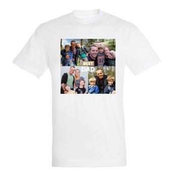 Vatertag T-Shirt - Weiß - L